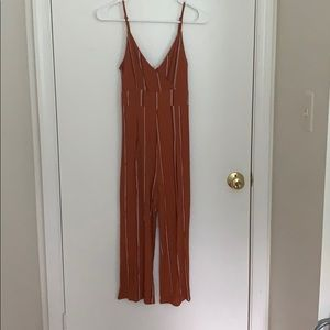 Striped PacSun Jumpsuit